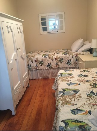 Eastham Cape Cod vacation rental - Third bedroom with another two twins