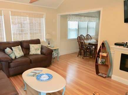 Eastham Cape Cod vacation rental - Brand new spacious living room with plenty of natural light!