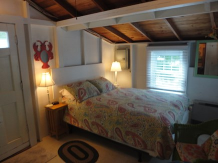 Wellfleet Cape Cod vacation rental - Enter into bedroom with air conditioning