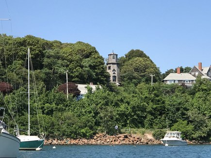 Woods Hole Woods Hole vacation rental - Windmill seen from boat in harbor