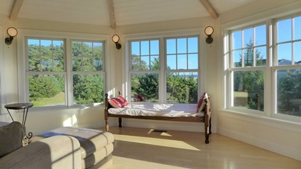 Orleans Cape Cod vacation rental - Tower room surrounded by windows