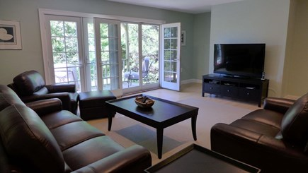 Orleans Cape Cod vacation rental - Lower level TV/Living area