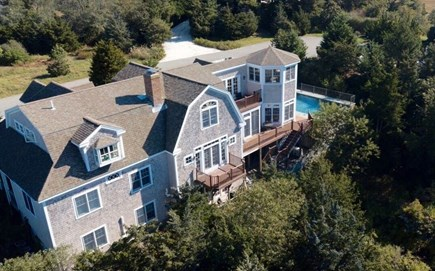 Orleans Cape Cod vacation rental - Bird's eye view of the back of the house