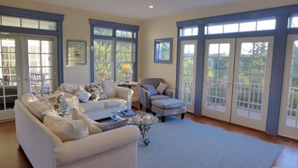 Orleans Cape Cod vacation rental - TV / Living room on main floor