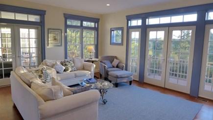 Orleans Cape Cod vacation rental - TV / Living room on main floor