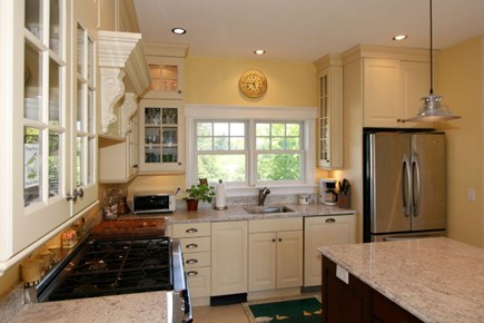 Orleans Cape Cod vacation rental - Well stocked kitchen with Viking 6 burner gas range