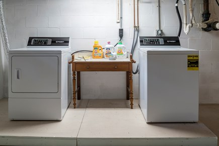 Chatham Cape Cod vacation rental - Lower level laundry area