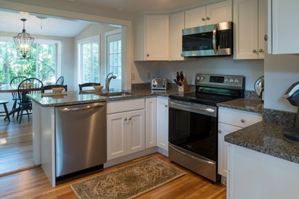 Chatham Cape Cod vacation rental - Kitchen with stainless steel appliances