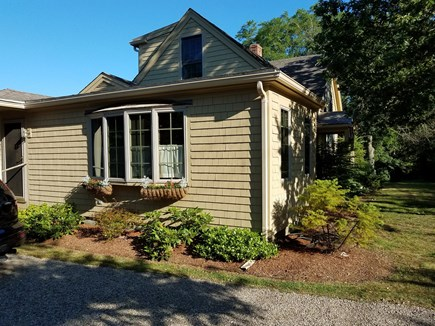 harwich Cape Cod vacation rental - Side view. nicely landcape