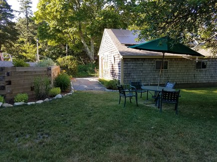 harwich Cape Cod vacation rental - Lovely and large backyard