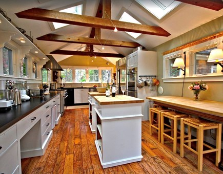 Sagamore Beach Sagamore Beach vacation rental - Bright sunny kitchen with skylights and water views