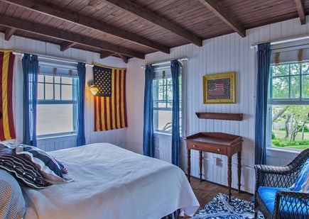 Plymouth, Manomet Bluffs MA vacation rental - South Oceanfront King bedroom, ocean all around