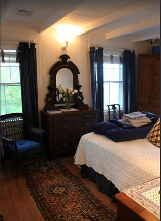 Plymouth, Manomet Bluffs MA vacation rental - North Oceanfront Queen bedroom, ocean all around
