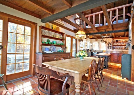 Sagamore Beach Sagamore Beach vacation rental - Vaulted Dining-Great Rm-Kitchen-loft. Ocean views, dining deck