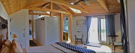 Plymouth, Manomet MA vacation rental - Master suite looking toward oceanfront bathroom
