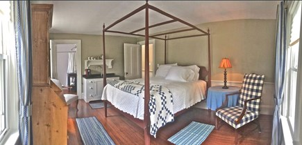 Plymouth Historic District MA vacation rental - Upstairs queen suite:serene, comfortable with lovely bathroom