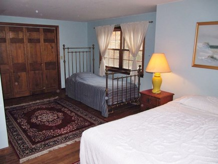 Eastham Cape Cod vacation rental - Bedroom with queen and twin bed