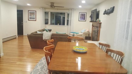 Chatham Cape Cod vacation rental - Dining room off an open kitchen for easy entertaining