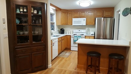 Chatham Cape Cod vacation rental - Open kitchen with seating stools
