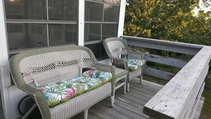 Chatham Cape Cod vacation rental - Deck for relaxing and overlooking the back yard or for sun bath
