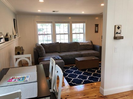 South Chatham Cape Cod vacation rental - Living room
