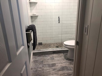 South Chatham Cape Cod vacation rental - Bathroom with walk in shower