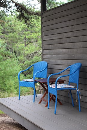 Eastham Cape Cod vacation rental - Outdoor porch sitting area