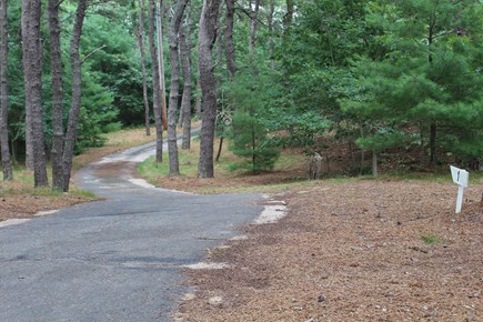 Eastham Cape Cod vacation rental - There is a private driveway