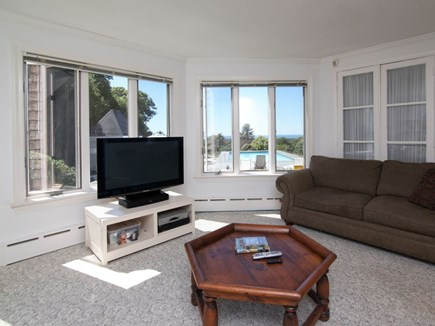West Falmouth Cape Cod vacation rental - Family room off kitchen