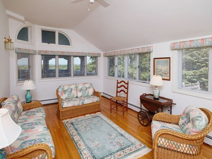 West Falmouth Cape Cod vacation rental - Sunroom