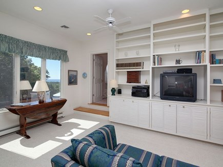 West Falmouth Cape Cod vacation rental - Den/Entertainment Center