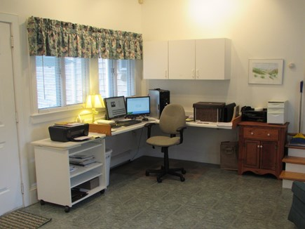 West Falmouth Cape Cod vacation rental - Office with internet access and printer