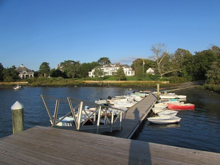 West Falmouth Cape Cod vacation rental - Dock West Falmouth Harbor one half mile away