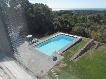 West Falmouth Cape Cod vacation rental - Pool view