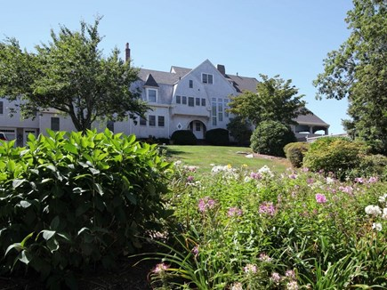 West Falmouth Cape Cod vacation rental - Front view with garden