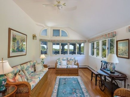 West Falmouth Cape Cod vacation rental - Sun Room off of Covered Porch