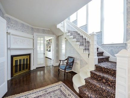 West Falmouth Cape Cod vacation rental - Front Hall