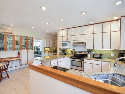 West Falmouth Cape Cod vacation rental - Kitchen in Main Part of House