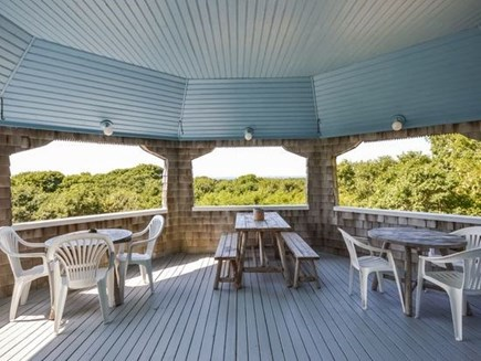 West Falmouth Cape Cod vacation rental - Covered Porch