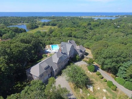 West Falmouth Cape Cod vacation rental - Aerial View