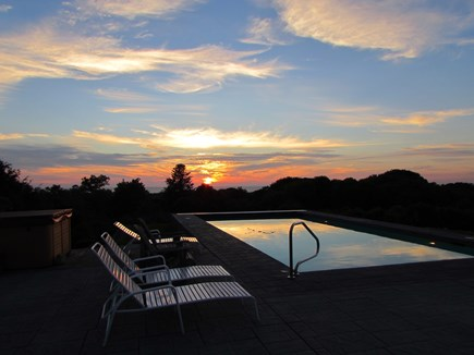 West Falmouth Cape Cod vacation rental - Pool at Sun SET