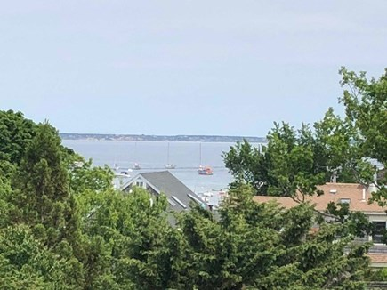 Provincetown, West End Cape Cod vacation rental - Beautiful view of the harbor from the roof deck!!
