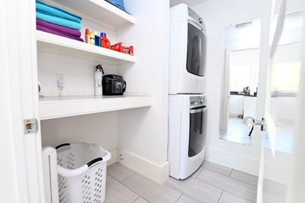 North Truro Cape Cod vacation rental - Laundry Room