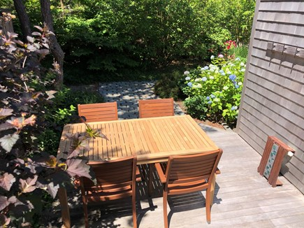 North Truro Cape Cod vacation rental - Patios and Private Decks Ideal for Lounging