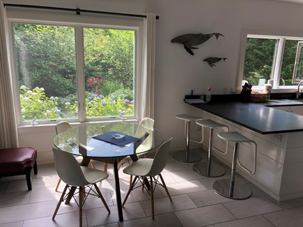 North Truro Cape Cod vacation rental - Dining area and breakfast bar