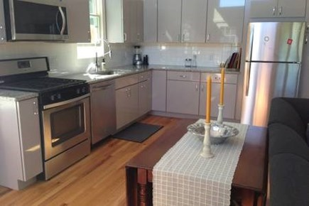 Provincetown, West End Cape Cod vacation rental - Winged dining table.