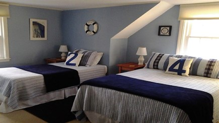 Chatham Cape Cod vacation rental - Upstairs Full & Twin with A/C and TV.