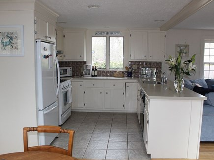 Chatham Cape Cod vacation rental - Open and well-stocked kitchen (lobster pot, pizza trays, etc).