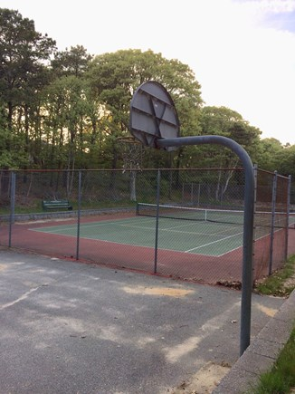 Chatham Cape Cod vacation rental - Neighborhood Tennis Court & Basketball Hoop - one mile away