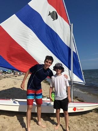 Chatham Cape Cod vacation rental - Rent a sunfish nearby for your young sailors!